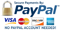 Paypal info